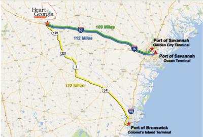 HGMS Port Map