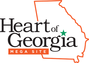 Heart of Georgia Mega Site logo